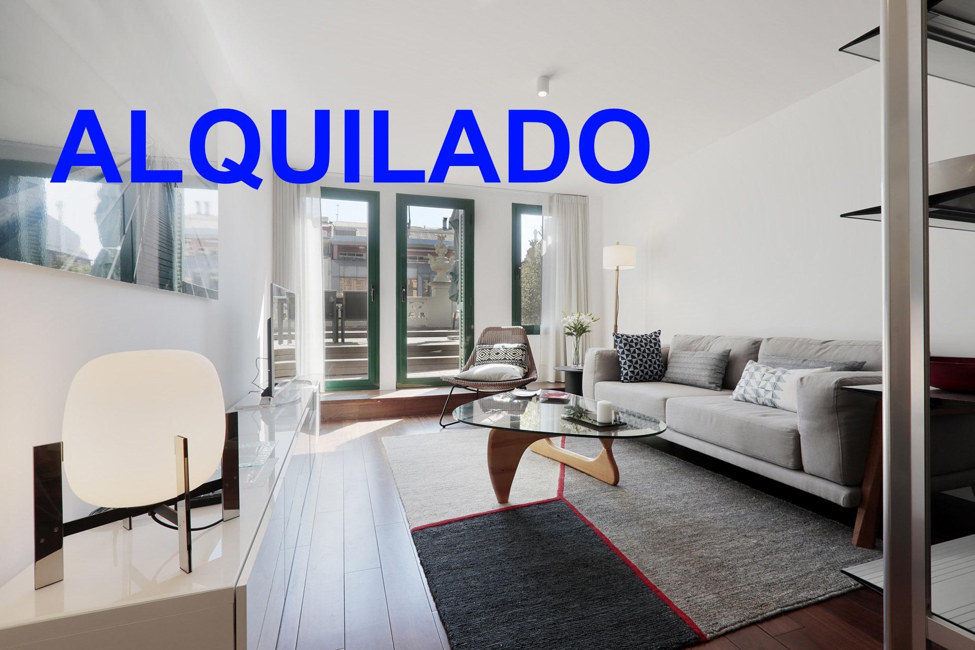Apartamento atico amueblado